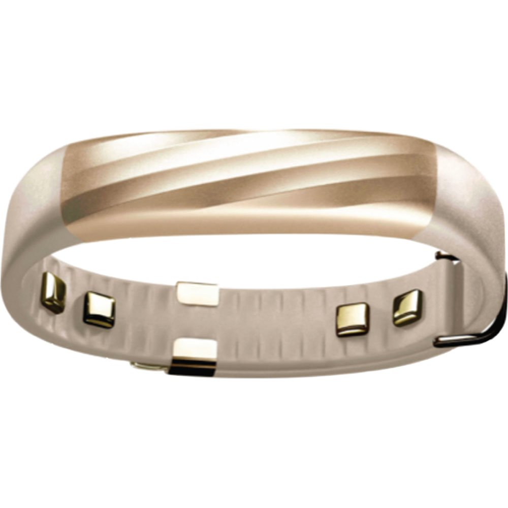 UP3 by Jawbone Heart Rate, Activity + Sleep Tracker, Sand Twist (Gold)