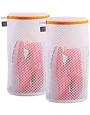 Extra Large Heavy Duty Mesh Wash Laundry Bag Net Fabric Durable and Reusable Wash Bag,Travel Storage Bag for Coats,Jeans,Bath Towels, Delicates, Bras, Socks, Shoes