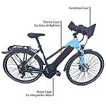 51BnWrotepL. SS150 NC-17 Connect E-Bike Schutzhülle Standard für Akku im Unterrohr/Batterie-Thermo-Cover/Neopren/Schwarz, Copertura Termica…