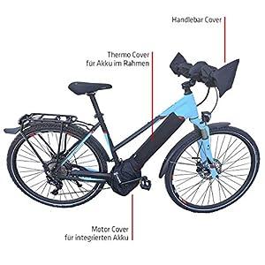 51BnWrotepL. SS300 NC-17 Connect E-Bike Schutzhülle Standard für Akku im Unterrohr/Batterie-Thermo-Cover/Neopren/Schwarz, Copertura Termica…