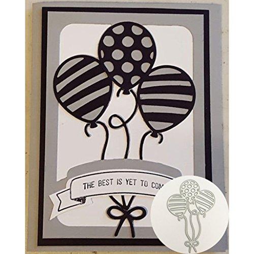 Yeahii Balloon Cutting Dies Stencil DIY Scrapbooking Embossing Album Paper Card Crafts by Yeahii (Image #6)