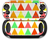 Triangles Citrus - Decal Style Skin fits Sony PS Vita