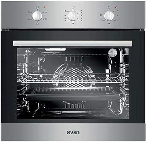 Horno multifuncion Svan SVH124X 6 funciones: Amazon.es: Grandes ...