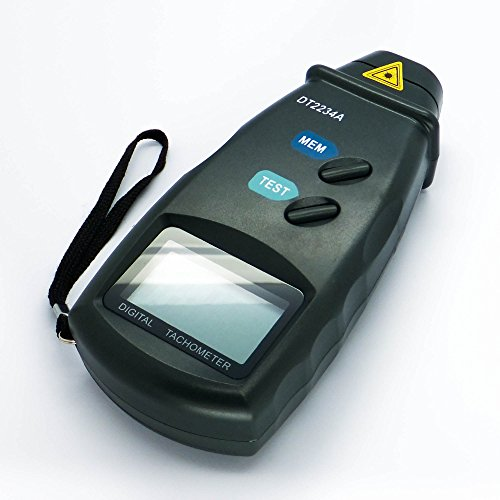 - Digital Photo Laser Tachometer Non Contact Tach RPM Meter