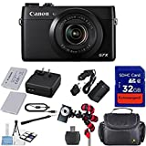 Canon PowerShot G7 X Mark II Digital Camera - Wi-Fi Enabled + 12pc - Best Reviews Guide