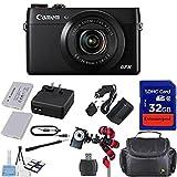 Canon PowerShot G7 X Mark II Digital Camera - Wi-Fi Enabled + 12pc Bundle - International Version