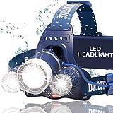 Brightest and Best LED Headlamp American Made 6000 Lumen flashlight IMPROVED CREE LED