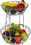 Fruit Basket Bowl, Chrome