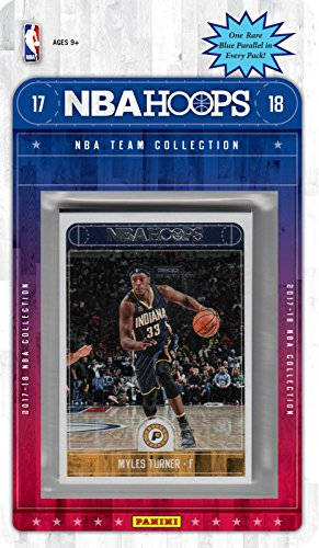 0ea6ad2fd Indiana Pacers 2017 2018 Hoops Basketball Factory Sealed 10 Card NBA  Licensed Team Set with Victor Oladipo