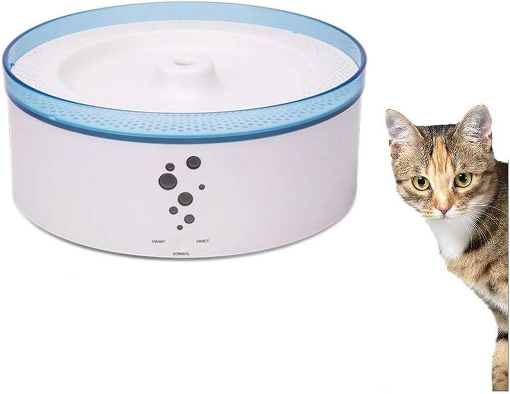 インテリジェントペット給水器、猫と犬のための犬給水器4フィルターシステム3L大容量サイレントポンプ
