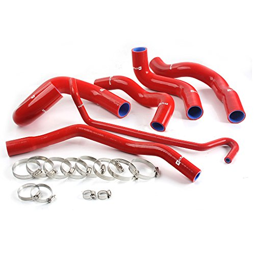 Mustang Silicone Hose Kit - GPLUS Silicone Radiator Coolant Hose Kit For 05-06 Mustang GT V8/05-10 GT500