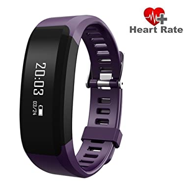 Grewtech H28 Bluetooth Heart Rate Monitor Smart Touch Bracelet