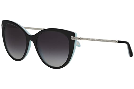 80c6ff1932 Image Unavailable. Image not available for. Color  Tiffany   Co. Womens  Women s Tf4143b 55Mm Sunglasses