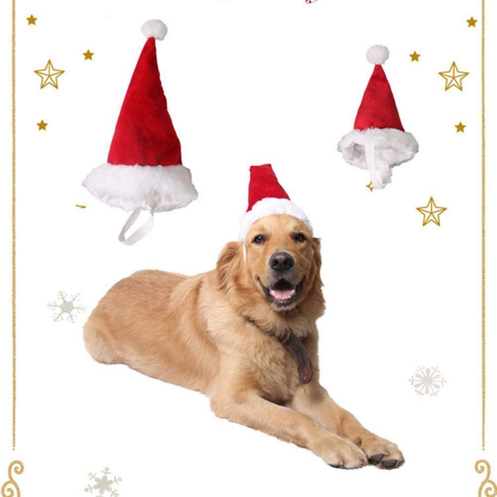 Xianjun Weihnachtsmütze für Haustiere, Weihnachtsmütze für Kleine ...