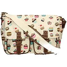 LYDC Cupcake Satchel Bag Girls School Bag Womens Handbag