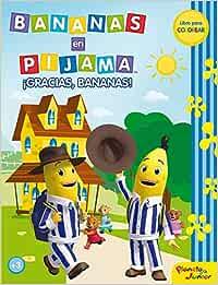 Bananas en pijama. ¡Gracias, Bananas!: Libro para colorear ...