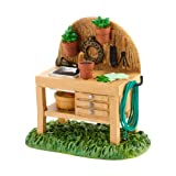 Department 56 Decorative Accessories for Village Collections, My Garden Potting Bench General Accessory, 2.05-Inch