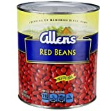 Allen Red Beans, 111 Ounce Can - 6 per case.