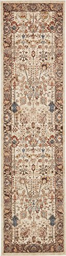 Traditional Persian Rugs Vintage Design Inspired Overdyed Fancy Beige 2′ 7 x 10′ Afshan St. James Area Rug