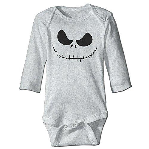D-IUA Nightmare Before Christmas Jack Skellington Unisex Baby Rompers Jumpsuit Babysuit Baby Climbing -