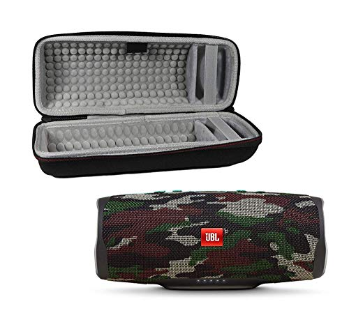 JBL Charge 4 Waterproof Wireless Bluetooth Speaker Bundle with Portable Hard Case – Camouflage