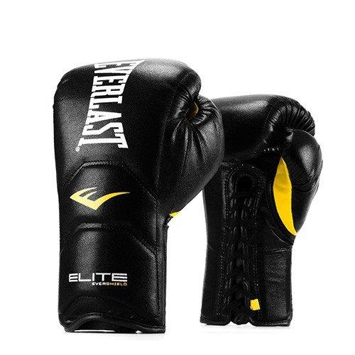 Everlast NEW Pro Style Elite Training Gloves (14 oz, Black)