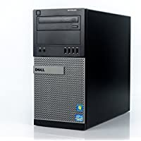 Dell Optiplex 9010 Tower Premium Business Desktop Computer, Intel Quad-Core i7-3770 up to 3.9GHz, 8GB DDR3 Memory, 2TB HDD + 120GB SSD, DVD, WiFi, Windows 10 Professional (Certified Refurbished)