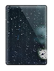 Tpu Case Cover For Ipad Air Strong Protect Case - Water Drop Design 8689829K17811075