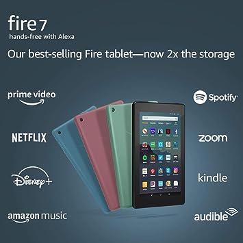 Fire 7 Tablet (7 Display 16 GB) - Black: Amazon.es