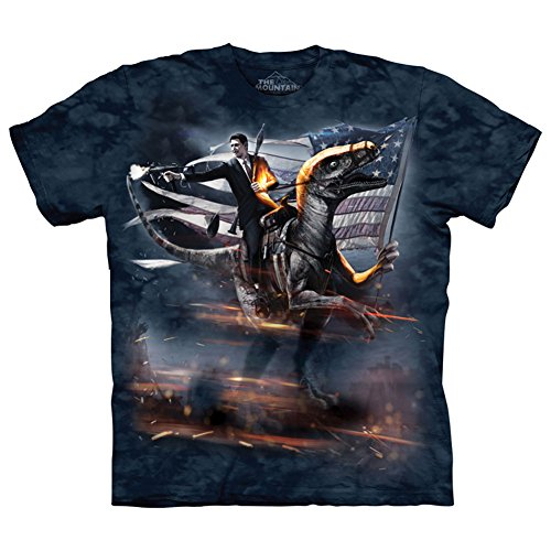 Reagan Velociraptor T-Shirt by The Mountain - Adult XL