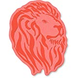 A7 'Lion Head' Unmounted Rubber Stamp