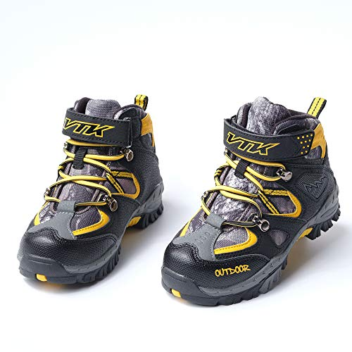 Pictures of Kid Hiking Boots Waterproof Thick Warm Snow 4