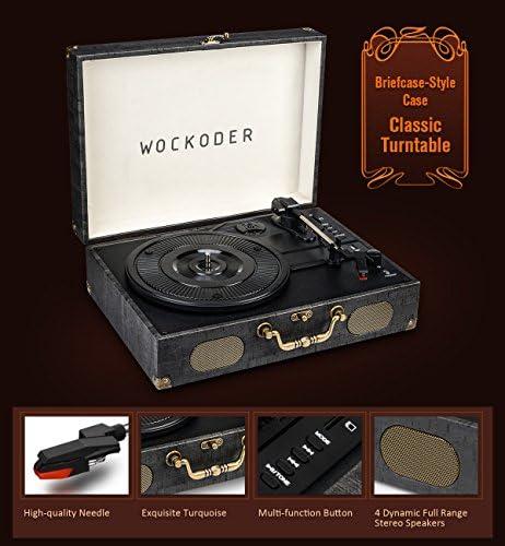 Amazon.com: Reproductor de grabación giratorio clásico para ...
