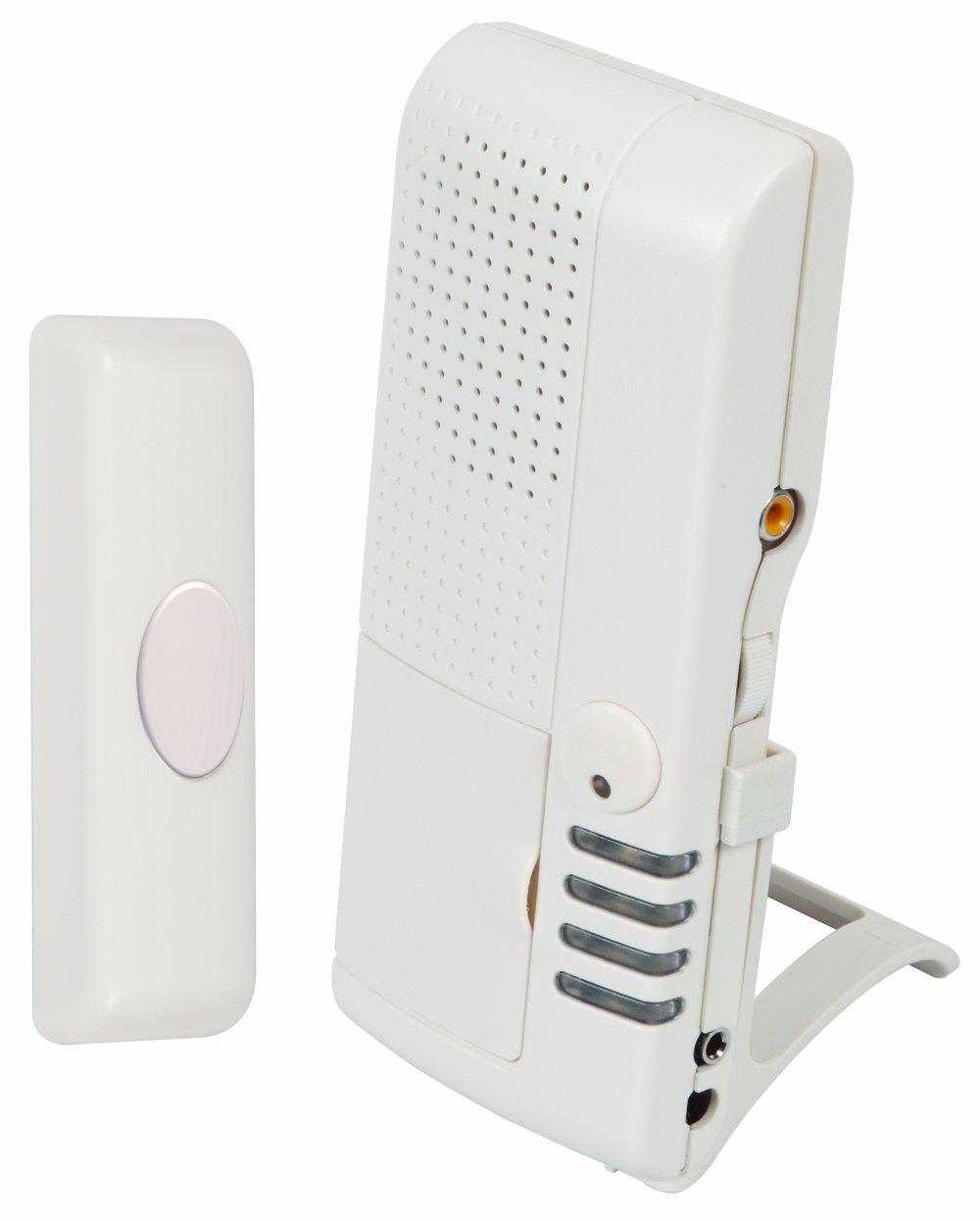 Safety Technology International, Inc. STI-V34600 Wireless Doorbell with Voice Receiver