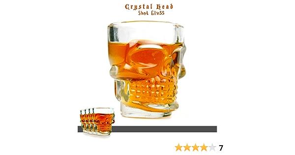 Takestop® - Juego de 4 vasos de licor