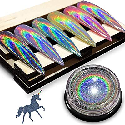 Holographic Chrome Nail Powder
