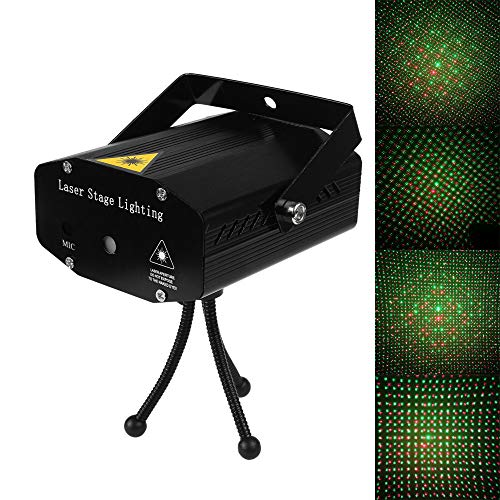 (Mini LED Laser Projector Christmas Decorations for Home Laser Pointer Disco Light Stage Party Pattern Lighting Projector Shower Christmas Led Tree Lights Christmas Light Outdoor Show)