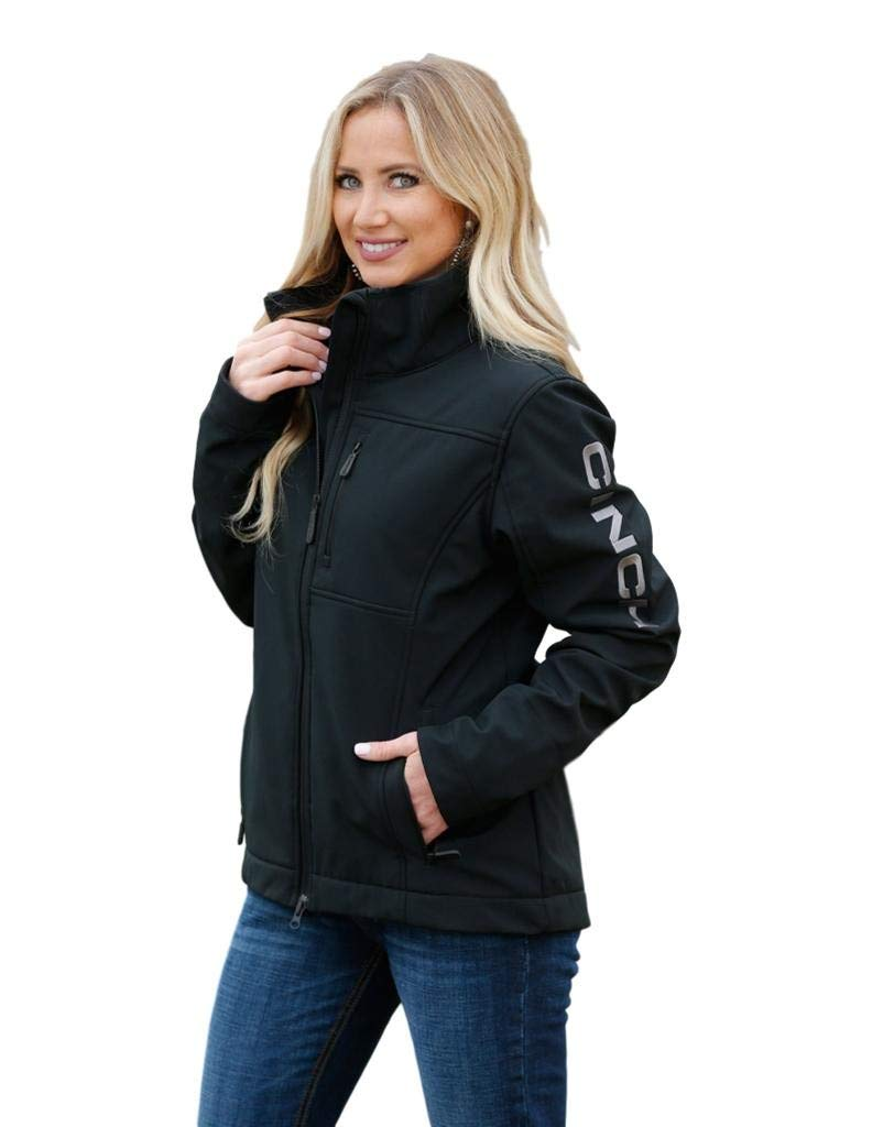Cinch Women's Concealed Carry Bonded Jacket Black Small by Cinch