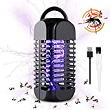 Baban Electric Bug Zapper, USB Connection, Portable Standing or Hanging Design Perfect for Home, Bedroom, Office, Kitchen, Restaurant, Indoor and Outdoor