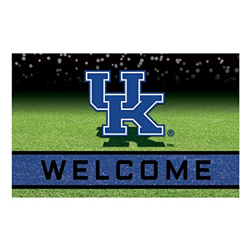 NCAA University of Kentucky Wildcats Heavy Duty Crumb Rubber Door Mat