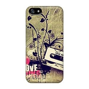 Ccb4695lPiK Faddish Love Music Case Cover For Iphone 5/5s