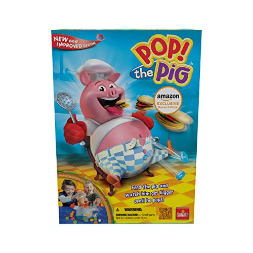 Amazon Exclusive Bonus Edition Pop The Pig - Includes 24Pc Pop The Pig Jigsaw Puzzle!