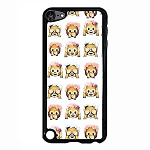 Humorous Emoji Phone Case Cover For Ipod Touch 5th Generation Nice Protective Mobile Shell