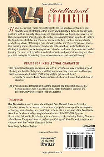Intellectual Character: What It Is, Why It Matters, and How ...