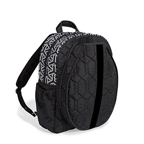 cinda b. Tennis Backpack, Jet Set Black ()