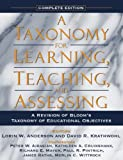 img - for A Taxonomy for Learning, Teaching, and Assessing: A Revision of Bloom's Taxonomy of Educational Objectives, Complete Edition book / textbook / text book