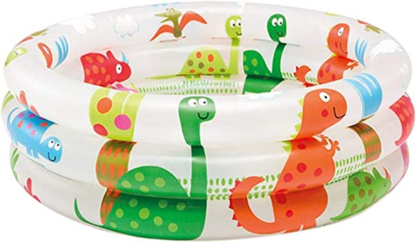 Piscina hinchable para bebé con 3 anillas, mini piscina hinchable ...