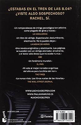 La chica del tren (Bestseller): Amazon.es: Hawkins, Paula, Montoto ...