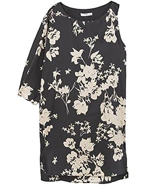 Mango Women's Asymetric Dress