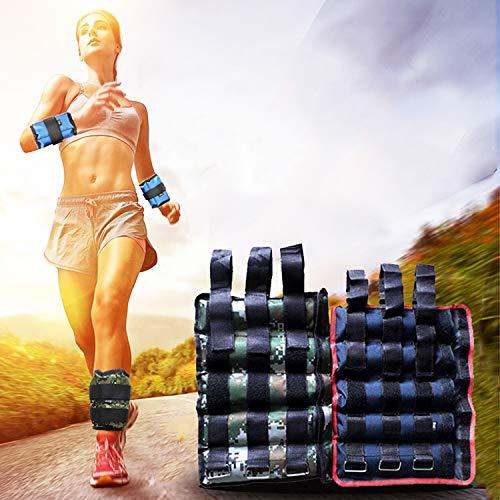 Diffomatealliance Sports&Entertainment スポーツ&エンターテイメントフィットネス1組の積載装置の足首の重量のGaiterのSandbags、調節可能な見えないランニングスポーツのSandbags、重さ:10kg B07RYML2X7